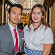 21 John Newinn and Michele Bumgarner at the Young Professionals Grand Prix kick-off party June 2014