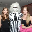 Meagan Wisniewski, from left,  Jacques Landry and Kelli Scandrol at the Brasserie 19 Halloween party October 2014