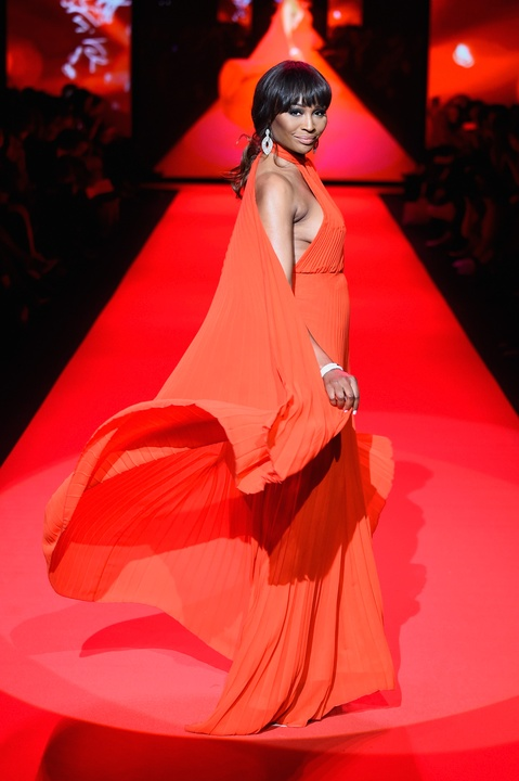 32 Clifford New York Fashion Week Fall 2015 Go Red for Women February 2015 Cynthia Bailery from Real Housewives of Atlanta