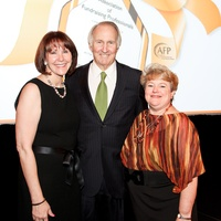 National Philanthropy Day luncheon, November 2012, Judy Howell, Jim Crownover, Amelia Ribnick Kleiman