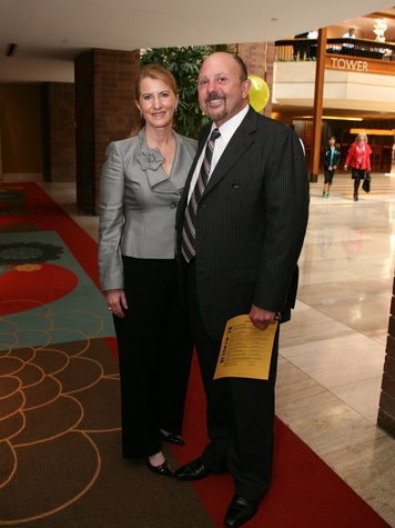 Caroly Hess, Jim McKinney, Pot of Gold Luncheon