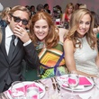 101 Meredith and Travis Hedemann, from left, Beverly Barrett and Michelle Mendenhall at the Blaffer Gala May 2014