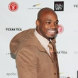 Adrian Peterson fashion show, February 2013, Adrian Peterson, red carpet