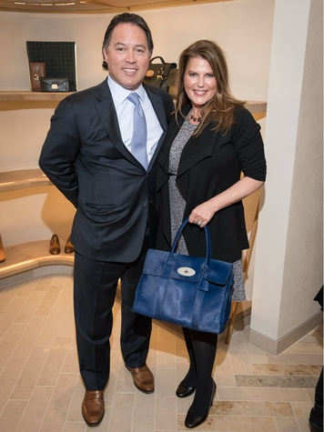 Derek and Tammy Wood, Mulberry Opening