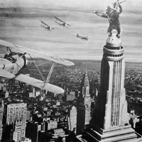 King Kong, Empire State Building, 1933 movie scene