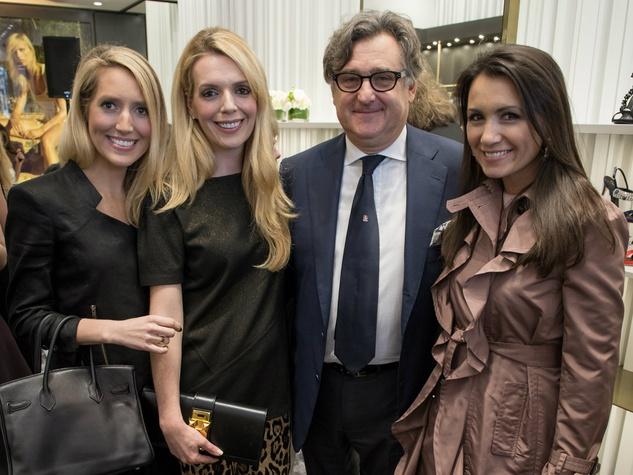 Vogue Helps Welcome Giuseppe Zanotti To Dallas Highland
