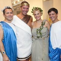 001_Bering Omega toga party, July 2012, Jerry Guerrero, Paul Pettie, Liz Gorman, Nick Espinosa.jpg