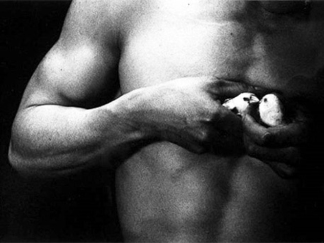 News_FotoFest auction_Steven Thomson_Eikoh Hosoe_Man and Woman