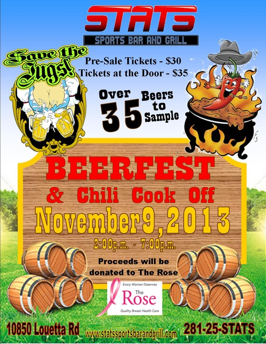 First Annual Beer Fest Amp Charity Chili Cook Off Benefiting