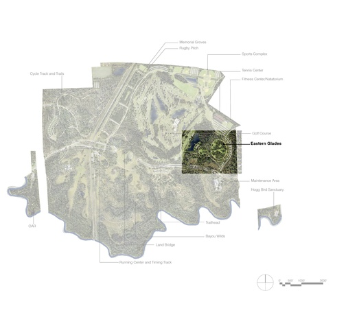 Eastern Glades rendering map