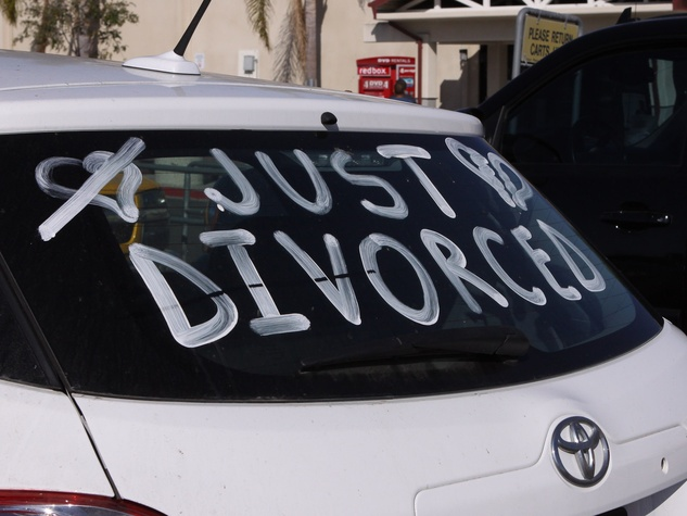 just divorced car