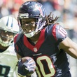 DeAndre Hopkins Texans running free