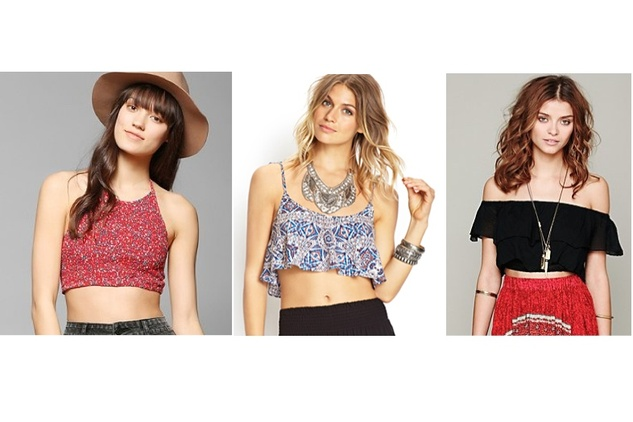 summerfest fashion, crop tops