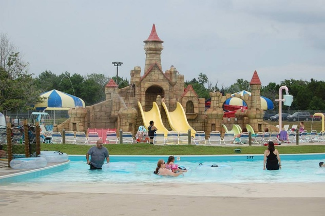 Kids Castle at Splash Kingdom water park in Canton
