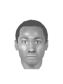 Police sketch of murder suspect