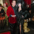 2 Rich Ortiz and Ella Markovsky at the CultureMap Halloween party at Mr. Peeples October 2013