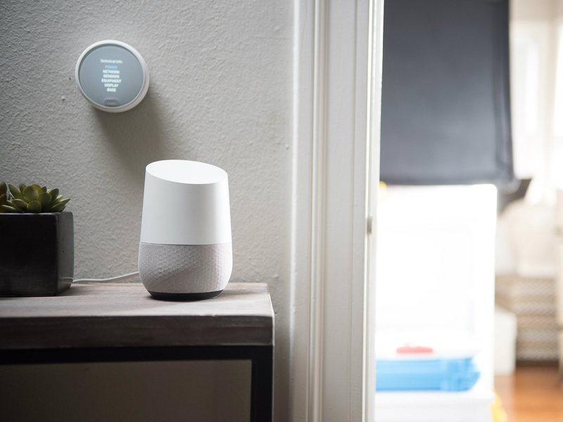 Nest Thermostat E and Google Home
