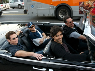 Kevin Connolly, Jerry Ferrara, Adrian Grenier and Kevin Dillon in Entourage