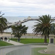 St. Kilda's pier into Port Phillip Bay Australia