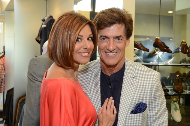24 Dominique Sachse and Nick Florescu at the Festari for Men Summer Soiree August 2014
