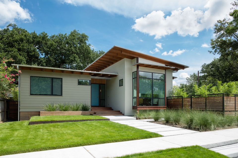 AIA Houston Home Tour 705 Merrill McIntyre+Robinowitz Architects: Marmo-Vaikhman House