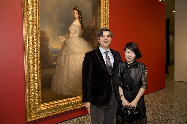 MFAH High Society, 4/16, Sujiro Seam, Jane Seam