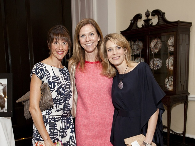 6 Mary Ellen Bos, from left, Elizabeth Pagan and Kristen Weber at the Small Steps Luncheon