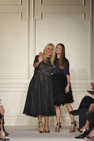 Marchesa deisgners Keren Craig and Georgina Chapman