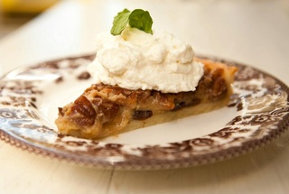 Buttermilk pecan pie at Sissy's Southern Kitchen & Bar in Dallas
