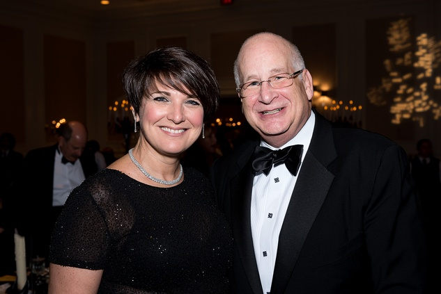 95 Dr. Patti Savrick and Dan Steiner at the Jewish Community Center Children's Scholarship Ball March 2015