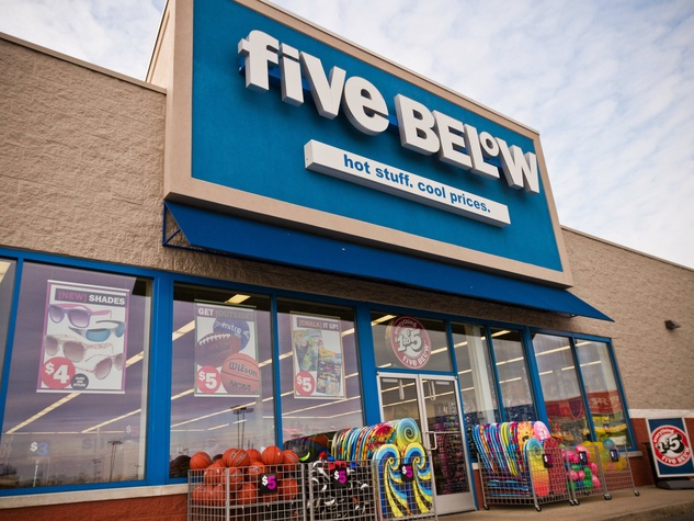 Five Below, budget-friendly, shopping