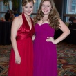 Kaitlin Mooney, left, and Maggie Pfeffer at the Covenant House Gala April 2014
