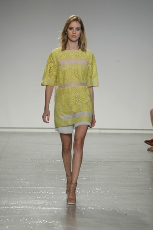 Rebecca Taylor spring 2014 collection look 1