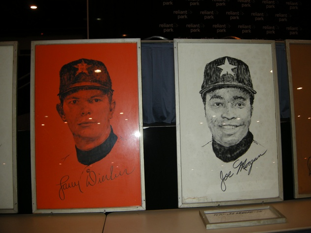 Alamodome auction and sale preview November 2013 signed portraits