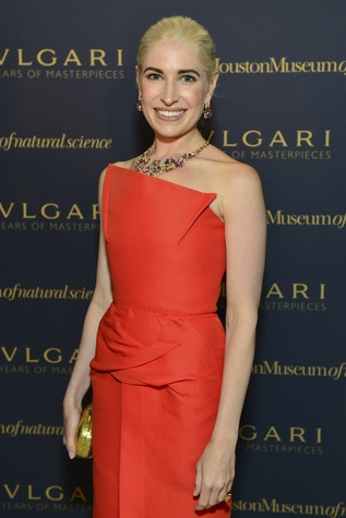 21 Isabel David at the Bulgari exhibition dinner May 2014