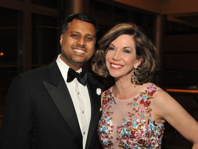 Houston, Heart Ball, Feb 2017, Dr. Aashish Shah, Roseanne Rogers.