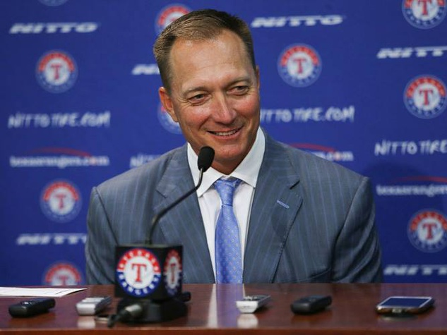 Jeff Banister of the Texas Rangers