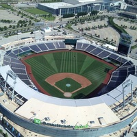 College World Series stadium in Omaha