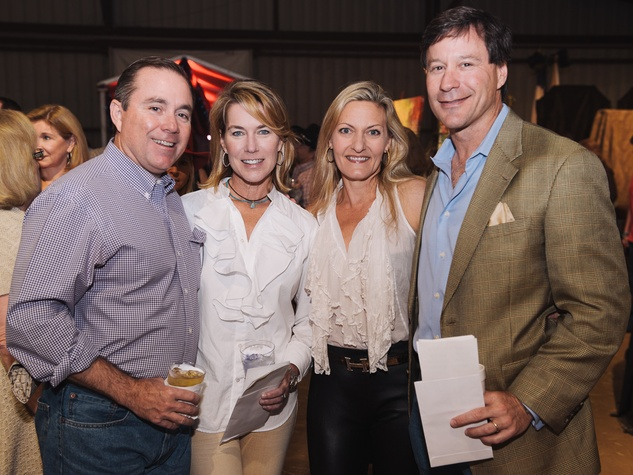 19 Houston Cattle Baron's Ball April 2013 Bruce Ross, Barbie Ross, Connie Cooper, Britton Cooper