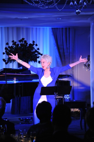 Rita Moreno in performance at the Houston Arts Alliance event with Rita Moreno May 2014