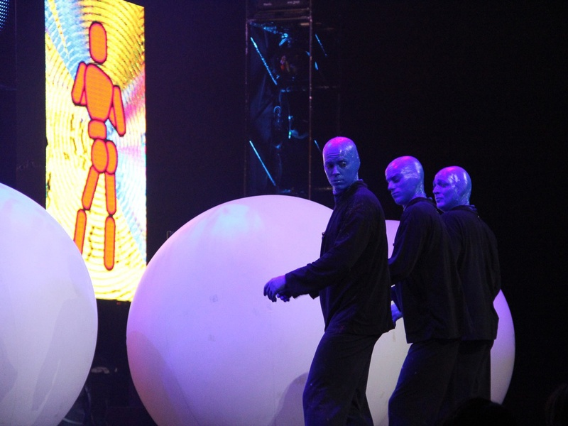 Slideshow: It's not easy being blue: Houston-area Blue Man shows ...