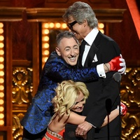Tony Awards 2015 Kristin Chenoweth, Alan Cumming and Tommy Tune