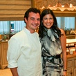 AVDA gala, October 2012, Chef David Cordua, Kristy Junco Bradshaw