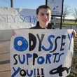 Students participate in community outreach at Odyssey School