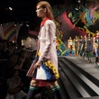 Prada spring 2014 collection runway walk