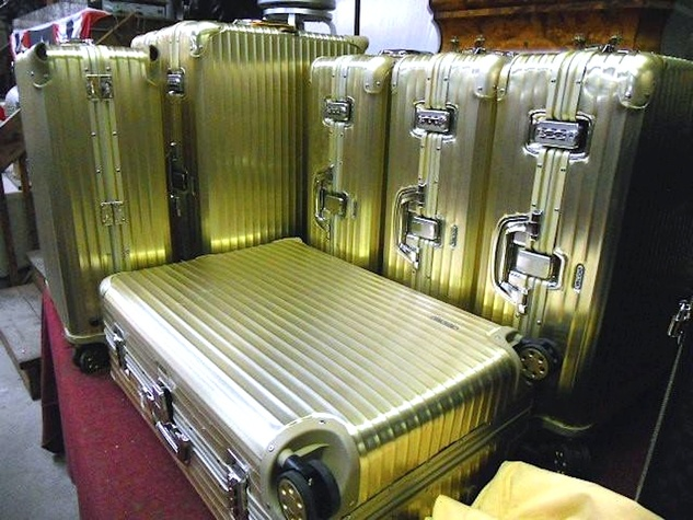 Michael Brown auction briefcases