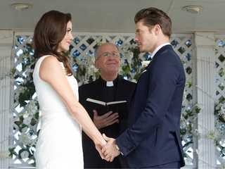 John Ross gets married on Dallas season 3