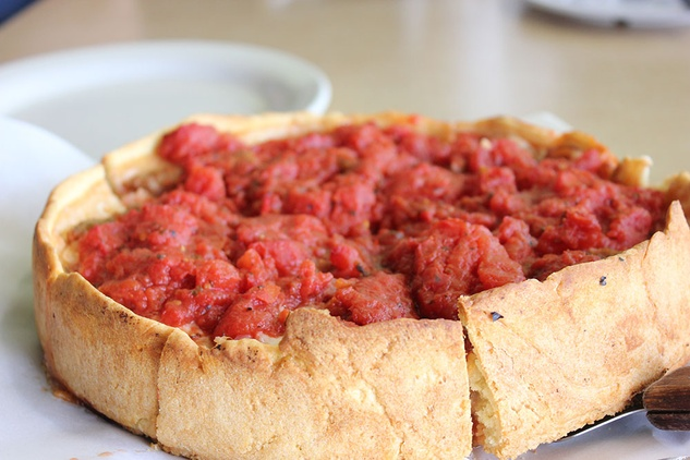"D""Marcos deep dish pizza"