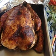 roasted turkey fresh out of the oven by Osteria Mazzantini