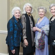 Jayne Venarde, from left, Ruth Giampietro, Kathleen Laws and Kay Bartle at the River Oaks Chamber Orchestra Gala September 2014
